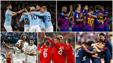 Berikut daftar 10 klub dengan skuad termahal di liga top Eropa versi Transfermarkt. Klub Premier League, Manchester City, di posisi teratas.