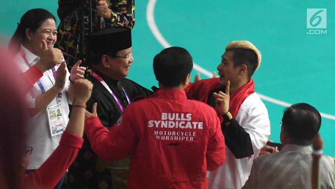 Ini Alasan Hanifan Memeluk Jokowi dan Prabowo Usai Raih ...