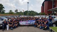 """Toyota Fortuner](3234599 """""""") Club of Indonesia (ID42NER) ikut menyambut hangat gelaran olah raga terbesar se-Asia tersebut. (Istimewa)"""