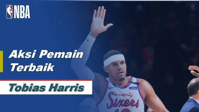 Berita Video Tobias Harris Bawa Philadelphia 76ers Menang Atas New York Knicks 115-106