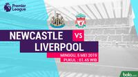Premier League - Newcastle United Vs Liverpool (Bola.com/Adreanus Titus)