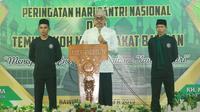 Wakil Ketua MPR Jazilul Fawaid hadiri Pengajian NU dalam rangka memperingati Hari Santri Nasional.