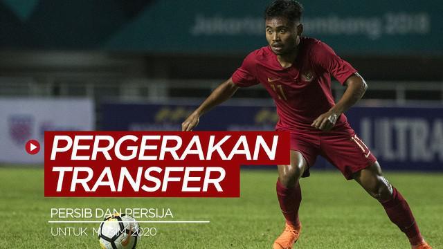 Berita video Scroll Up kali ini membahas pergerakan transfer terkini yang dilakukan Persib Bandung dan Persija Jakarta untuk musim 2020.