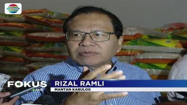 Rizal Ramli selaku mantan Kabulog dan Ombudsman memiliki pandangan berbeda soal impor beras. Apa kata mereka?