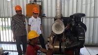 Operator Pembangkit Listrik Tenaga Diesel (PLTD) Pulau Komodo, Nusa Tenggara Timur (NTT).(Liputan6.com/Pebrianto Eko Wicaksono)