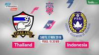 Piala AFF 2018 Thailand Vs Indonesia_3 (Bola.com/Adreanus Titus)
