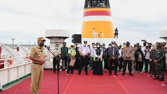 Kasus Covid-19 Makassar Melandai, Isolasi Apung KM Umsini Resmi Diberhentikan