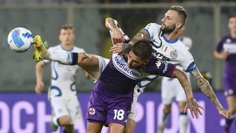 FOTO: Sempat Tertinggal, Inter Milan Kandaskan Tuan Rumah Fiorentina
