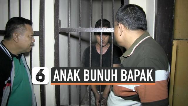 Seorang anak di Tegal Jawa Tengah tega membunuh bapak kandungnya. Ia habisi nyawa korban saat tidur dengan  menggunakan kapak.