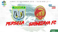 Liga 1 2018 Persela Lamongan Vs Sriwijaya FC (Bola.com/Adreanus Titus)