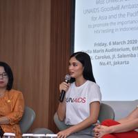 Kunjungan Pia Wurtzbach UNAIDS Goodwill Ambassador for Asia and the Pacific ke Indonesia - UNAIDS