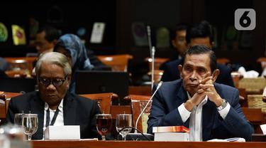 Pimpinan dan Dewas KPK Rapat Bersama Komisi III DPR