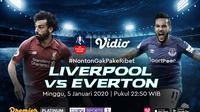 Saksikan Live Streaming Derby Merseyside Antara Liverpool VS Everton. sumberfoto: Vidio