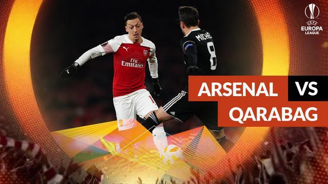 Berita video statistik Arsenal vs Qarabag pada matchday ke-6 Liga Europa 2018-2019.