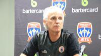 Pelatih Persija Jakarta, Ivan Kolev, memprediksi laga melawan Newcastle Jets akan berlangsung sengit. (dok. Persija Jakarta)
