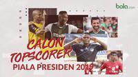 Calon Topscorer Piala Presiden 2019. (Bola.com/Dody Iryawan)
