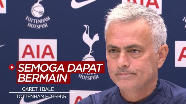 Berita Video harapan Jose Mourinho untuk Gareth Bale agar bisa tampil dengan Tottenham Hotspur pekan ini