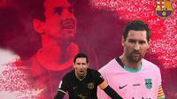 Barcelona - Ilustrasi Lionel Messi (Bola.com/Adreanus Titus)