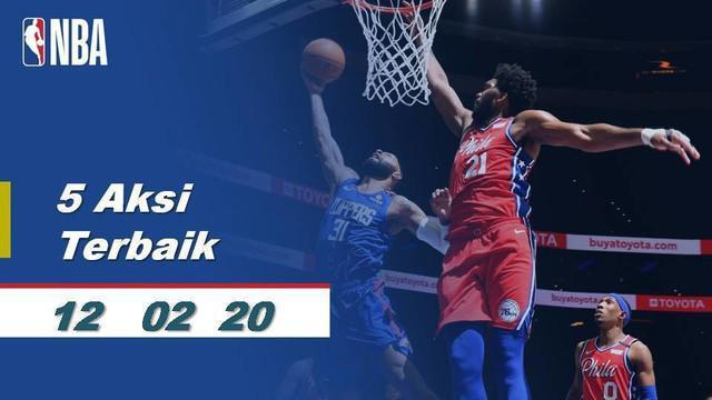 Berita Video 5 Aksi Terbaik NBA 12 Februari 2020