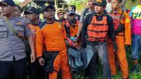 Pencarian korban susur Sungai Sempor (Fauzan/Liputan6.com)