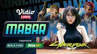 Main bareng Cyberpunk 2077 bersama Larissa Rochefort, Sabtu (19/12/2020) pukul 19.00 WIB dapat disaksikan melalui platform Vidio, laman Bola.com, dan Bola.net. (Dok. Vidio)