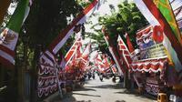 Kampung Bendera Surabaya (Sumber: Instagram/sapawargasby)