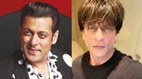 8 Seleb Bollywood yang Jalani Ibadah Puasa Ramadan (sumber: Instagram.com/beingsalmankhan & Instagram.com/imsrk)