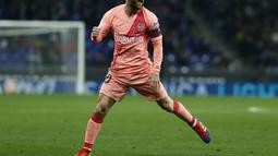 1. Lionel Messi (Barcelona) - 11 gol dan 8 assist (AFP/Pau Barrena)