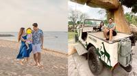 Liburan Samuel Zylgwyn dan Franda di Bali Zoo. (Instagram/samuel_zylgwyn/frandaaa87)