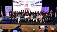 Press Conference Golden Memories Asia 2019 di Indosiar, Kamis (29/8/2019)