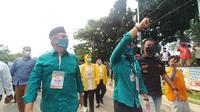 Sebelum Daftar ke KPU, Benyamin-Pilar Sosialisasikan 3M