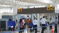 Simulasi pelayanan pengunjung Bandara Kertajati Majalengka Jawa Barat. Foto (Istimewa)