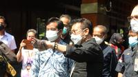 Menteri Pertanian (Mentan) Syahrul Yasin Limpo bersama Wali Kota Solo, Gibran Rakabuming.