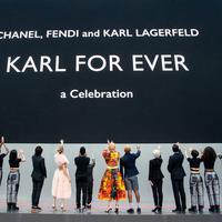 Para sahabat Karl Lagerfeld hadirkan persembahan spesial untuk penghargaan terakhir bagi sang legenda.