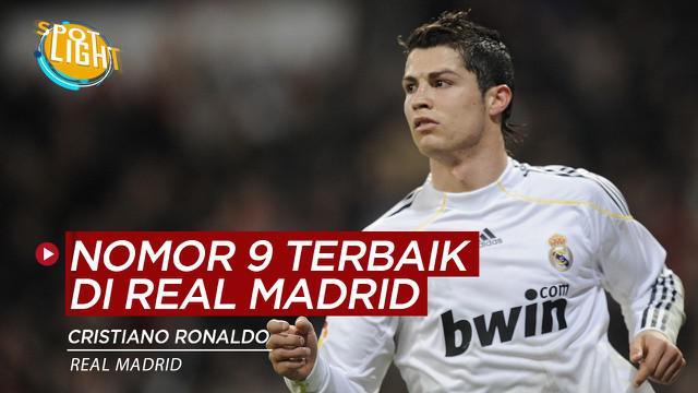 Berikut video 4 Pemain Nomor 9 Terbaik di Real Madrid.