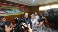Wakil Ketua MPR Mahyudin usai sosialisasi Empat Pilar MPR kepada Himpunan Wanita Karya Samarinda.