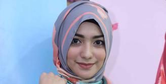 Pesinetron cantik Citra Kirana, dijadikan brand ambasador hijab dari El Hijab. (Nurwahyunan/Bintang.com)