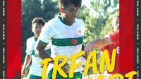 Timnas Indonesia - Irfan Jauhari (Bola.com/Adreanus Titus)