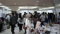 Bursa kerja di Surabaya, Jawa Timur (Foto:Liputan6.com/Dian Kurniawan)