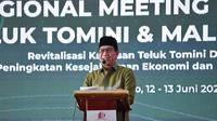 Mendes PDTT Abdul Halim Iskandar menghadiri acara Regional Meeting Kawasan Teluk Tomini dan Maluku Utara