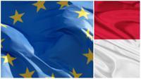 Ilustrasi Uni Eropa dan Indonesia. (europa.eu/embassyofindonesia)