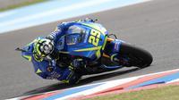 Suzuki Ecstar berjanji segera menemukan solusi terbaik untuk Andrea Iannone agar menemukan penampilan terbaiknya di MotoGP 2017.(EPA/David Fernandez)