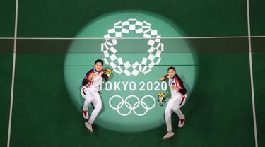 FOTO: Deretan Pemain Badminton Indonesia Peraih Medali Emas Olimpiade