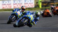 Bos Suzuki percaya diri Andrea Iannone dan Alex Rins bisa melanjutkan momentum positif di Sirkuit Sepang. (dok. Suzuki Racing)