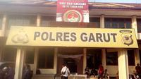 Markas Kepolisian Resort Garut, Jalan Sudirman, Garut, Kecamatan Karangpawitan, Garut, Jawa Barat (Liputan6.com/Jayadi Supriyadin)