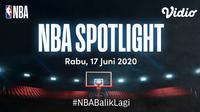 Serial dokumenter NBA Spotlight. (sumber: Vidio)