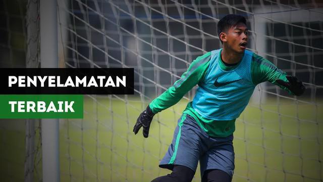 Berita video 5 momon penyelamatan terbaik kiper timnas Indonesia U-22, Satria Tama, pada SEA Games 2017.