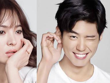 Song Hye Kyo dan Park Bo Gum sudah mengonfirmasi bahwa keduanya akan beradu akting dalam satu drama. (SB)
