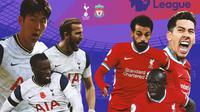 Premier League - Tottenham Hotspur Vs Liverpool - Head to Head (Bola.com/Adreanus Titus)