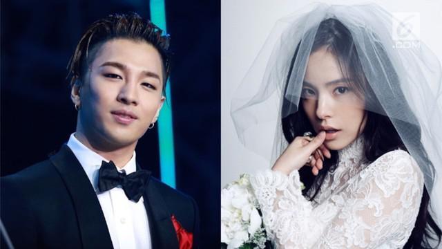 Setelah menjalin cinta sejak 2015, Taeyang-Min Hyo Rin resmi menjadi suami dan istri pada 3 Februari 2018. Pernikahannya pun dihadiri sejumlah artis papan atas.
